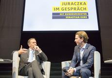 Podiumsdikussion Juraczka - Kurz zur Integrationspolitik in Wien 250815